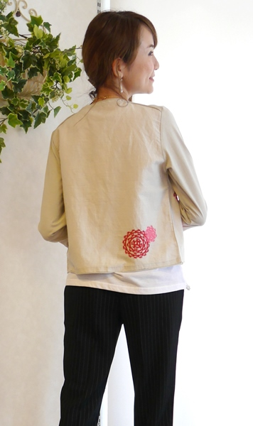 BlueJam 柄刺繍ジャケット