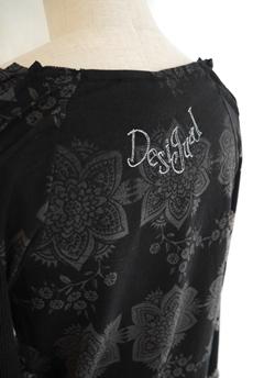 Desigual(デシガル)レディース長袖Tシャツ