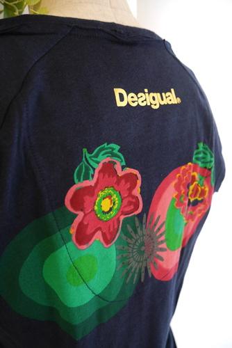 Desigual(デシガル)Tシャツ 半袖