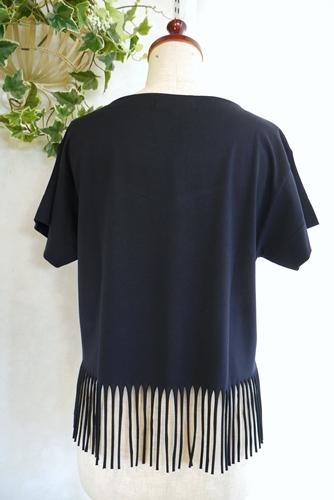 EMUE 大人 裾フリンジTシャツ 通販