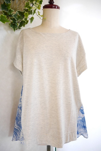 huitieme nid(ユイティーム・ニ) チュニックTシャツ