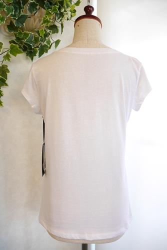 イタリアインポート 箔ロゴプリントTシャツ