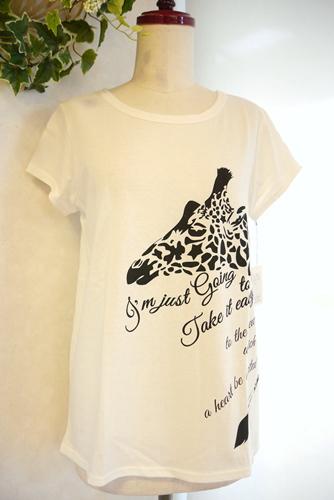 le chanter(ルシャンテ) 白Tシャツ