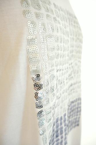 Relaxing.R(リラクシングアール)スパンコール刺繍Tシャツ