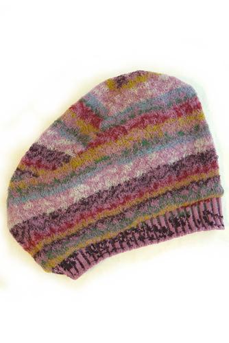 BUTAPANA ブタパナ ニットベレー帽子
