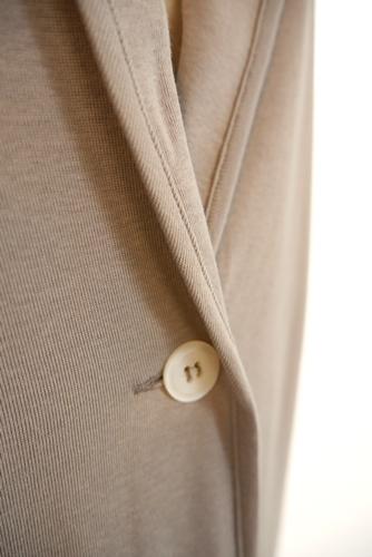 le chanter(ルシャンテ) 日本製 コットンカットジャケット