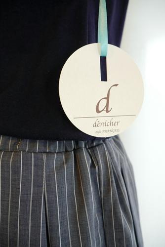 denicher(デニシェ) コンビワンピース
