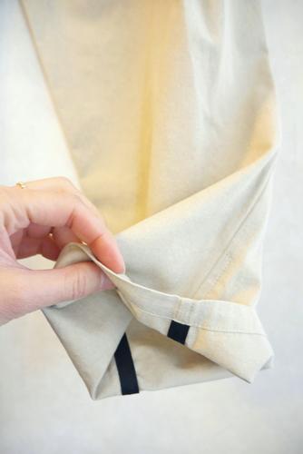 nudia 大人コットンワイド タックパンツ ファッションコーディネート 通販