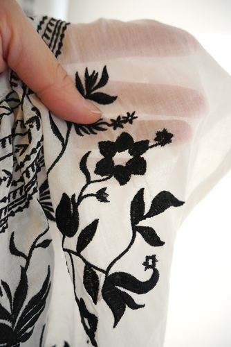 Anna Kerry アンナケリー フォークロア刺繍 ブラウス