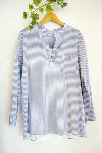 BlueJam ブルージャム 40代50代 ファッションコーディネート 長袖シャツ通販